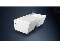 Ceramiczna misa wc i bidet STELLA LINEABLUE