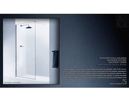 Ścianka prysznicowa AXISS GLASS L-1 900mm