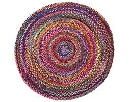 Dywan - bawelniany - kolorowy - ø140 cm - TOKAT