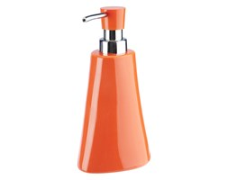 Dozownik na mydło Silvia, pomarańczowy.