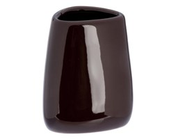 Kubek łazienkowy LINEO brązowy.
