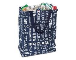 Umbra Recycle Czarno Biały Kosz Na Śmieci Bawełna - 082384-405