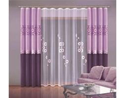 Zasłona liliowo-fioletowa Zoe 150x250 Wisan_DARMOWA DOSTAWA !!!