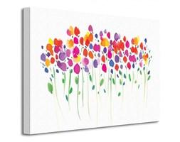 Vibrant Floral - Obraz na płótnie