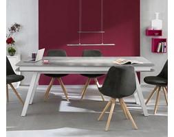 Stół, stylizowany na beton