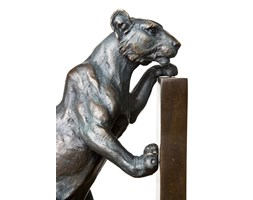 EICHHOLTZ Podpórka do książek Lioness S/2 bronz 2szt - 09100