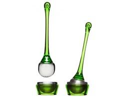 Zaparzacz do herbaty z podstawką SAGAFORM ZIELONY -- zielony