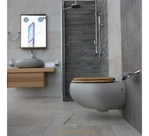 villeroy boch pure stone miska ust powa lejowa 53x59 cm model wisz cy grey stone ceramicplus. Black Bedroom Furniture Sets. Home Design Ideas