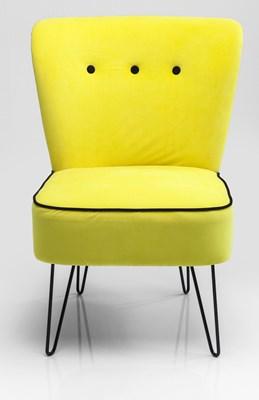 Kare design fotel florida yellow fotele zdj cia pomys y inspiracje homebook Kare fotel