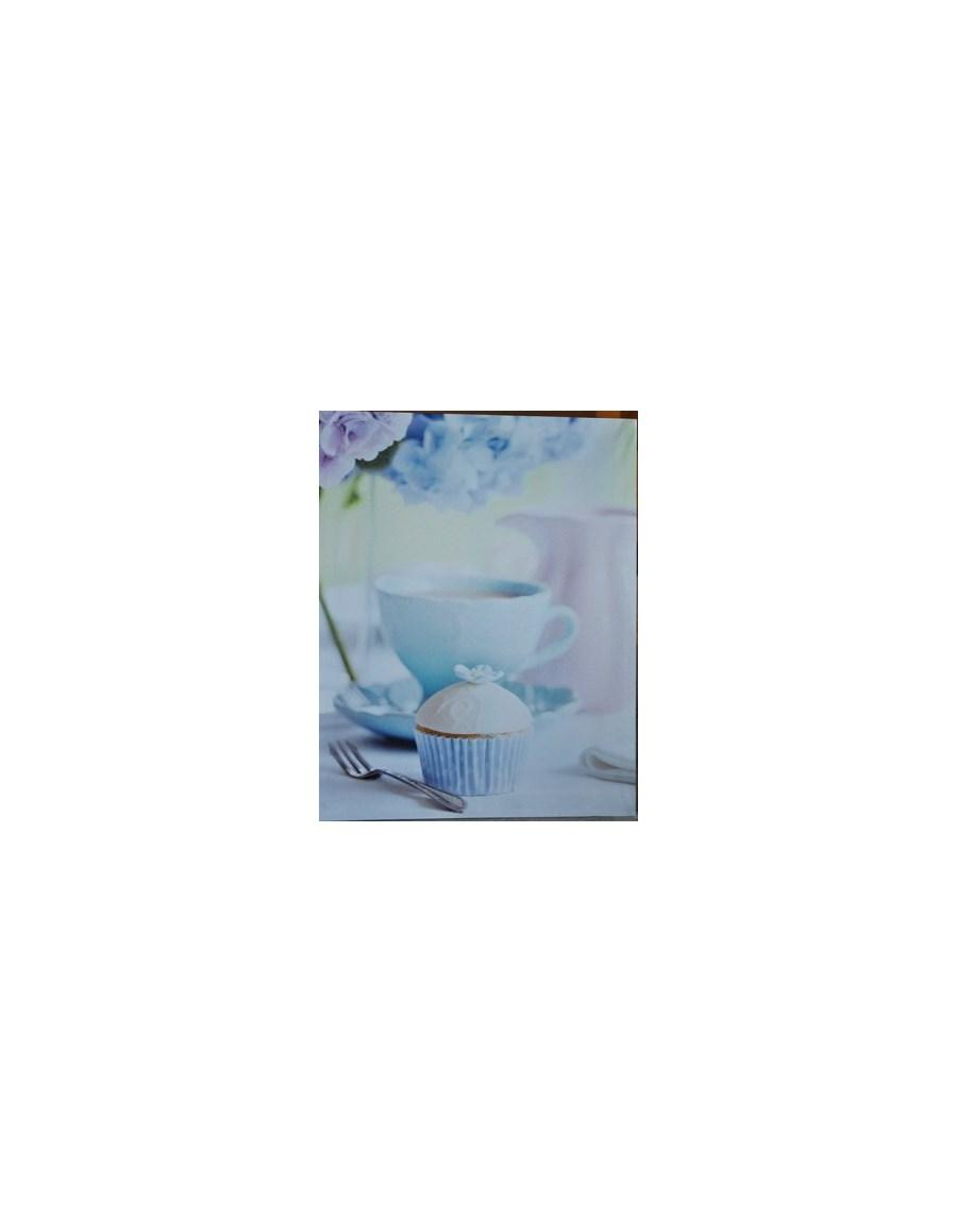 Obrazek mufinka niebieska