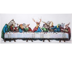 Kare Design Touched Last Supper Obraz 100x240cm - 36689