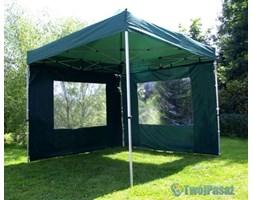 Pawilon handlowy 3x3 m, namiot ogrodowy, zielony