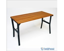 Stół drewniany ogrodowy 110cm - modern