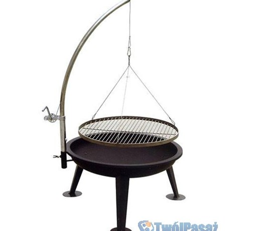 grill ogrodowy grill obrotowy ruszt bbq podwieszany. Black Bedroom Furniture Sets. Home Design Ideas