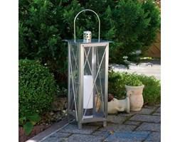 Latarnia ogrodowa, oświetlenie, lampion, stal szlachetna 55 cm