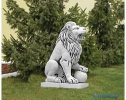 Figura ogrodowa betonowa lew 128cm