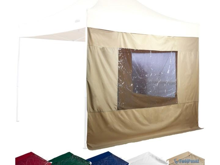 2 ścianki Boczne Z Oknami Do Pawilonu Ogrodowego 3 X 3 M Marki Stilista Wodoodporne Kolor Bordowy