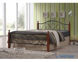 Łóżko metalowe podwójne 160 x 200 + listwy HSU_589