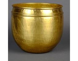 Mosiężna osłona w kolorze złotym średnia
