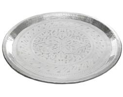 Dekoracyjna taca - srebrna