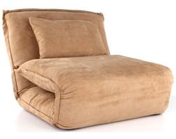 Actona Youpi Fotel Rozkładany Beżowy Tkanina Typu Alcantara - 0000057798