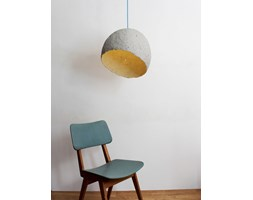 Wisząca lampa z papierowej pulpy - Globe