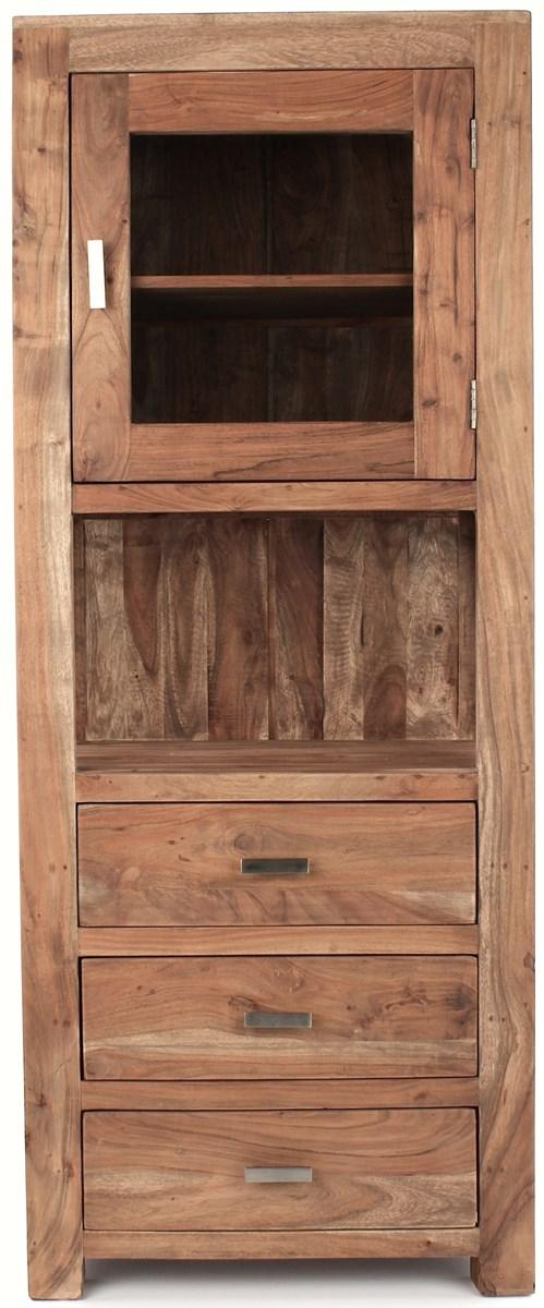 wolf m bel guru drewniana witryna 1 drzwiowa z 3. Black Bedroom Furniture Sets. Home Design Ideas