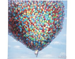 Kare Design Touched Million Ballons 3D Obraz 120x120cm - 36688