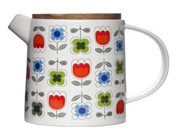 Sagaform Tea - Dzbanek do Herbaty z Dębową Pokrywką