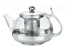 Kuchenprofi - Szklany Dzbanek do Herbaty ze Stalowym Zaparzaczem 1,2 l