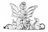 Rosendahl KAREN BLIXEN Dekoracja Świąteczna na Stół - Anioł Czytający - Posrebrzana
