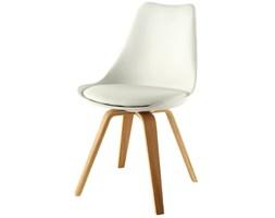 Tenzo Krzesło Gina Białe Nogi Bess Drewniane - GinaBess-B-D