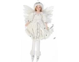 GW Fairy White Girl 23cm ozdoba