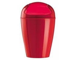 Kosz na śmieci czerwony - Koziol - Del XL