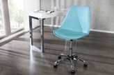Fotel biurowy London Blue