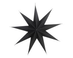Papierowa gwiazda - czarna