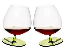 Kieliszki bujające się do brandy (2 sztuki), zielone  Bar Sagaform