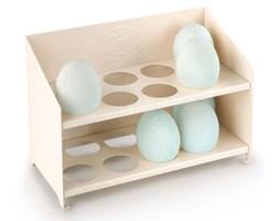Stojak emaliowany na jajka, kremowy Tala