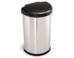 Kosz na śmieci półokrągły stal FPP (pojemność: 45 litrów) Sensor Simplehuman