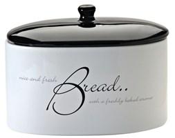 Chlebak ceramiczny z napisami &8211; Script Price & Kensignton