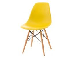 Krzesło P016W PP - D2 - żółte