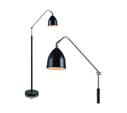 Industrialna Metalowa Lampa Podłogowa Do Salonu Fredrikshamn