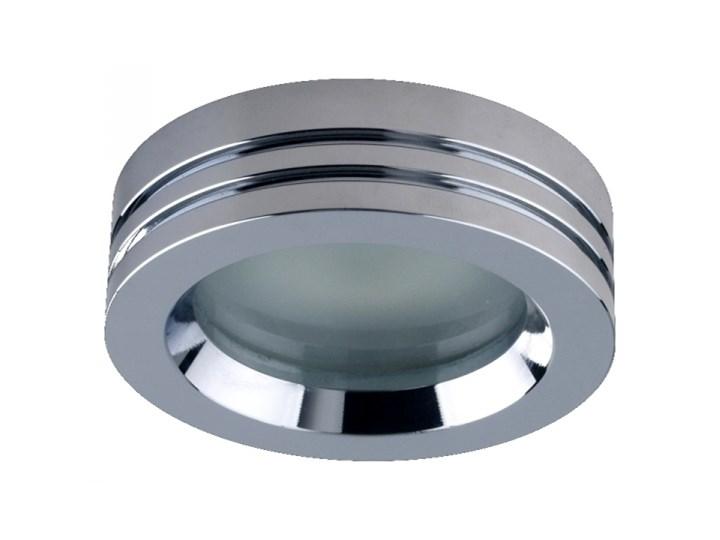 Oczko Halogenowe Lampa Sufitowa Oprawa Podtynkowa Spot Do łazienki Downlight Prezent 71002 Ip65 Okrągła Chrom Biały