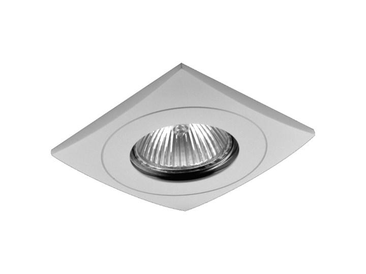 Oczko Halogenowe Lampa Sufitowa Oprawa Podtynkowa Spot Do łazienki Downlight Prezent 71021 Kwadratowe Biały