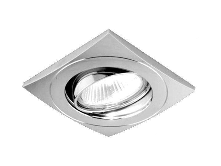 Oczko Halogenowe Lampa Sufitowa Oprawa Podtynkowa Spot Do łazienki Downlight Prezent 71028 Kwadratowe Chrom