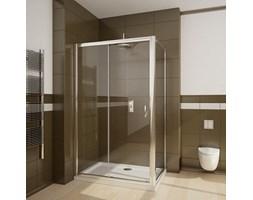 Radaway Premium Plus ścianka boczna Ścianka boczna - 100/190cm Szkło przezroczyste - 33423-01-01N.
