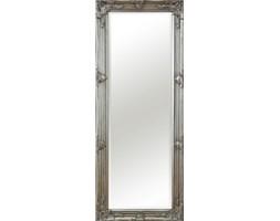 Stylowe lustro w ramie stare srebro