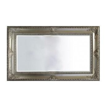 Stylowe lustro w ramie srebrnej