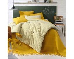 Narzuta na łóżko z frędzlami
