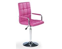 Krzesło dla młodzieży na kółkach GONZO różowe